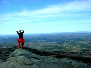 A view from the top of Mount Monadnock